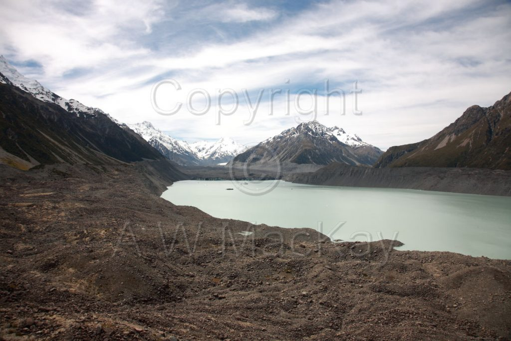 Tasman Glacier and Terminal Lake