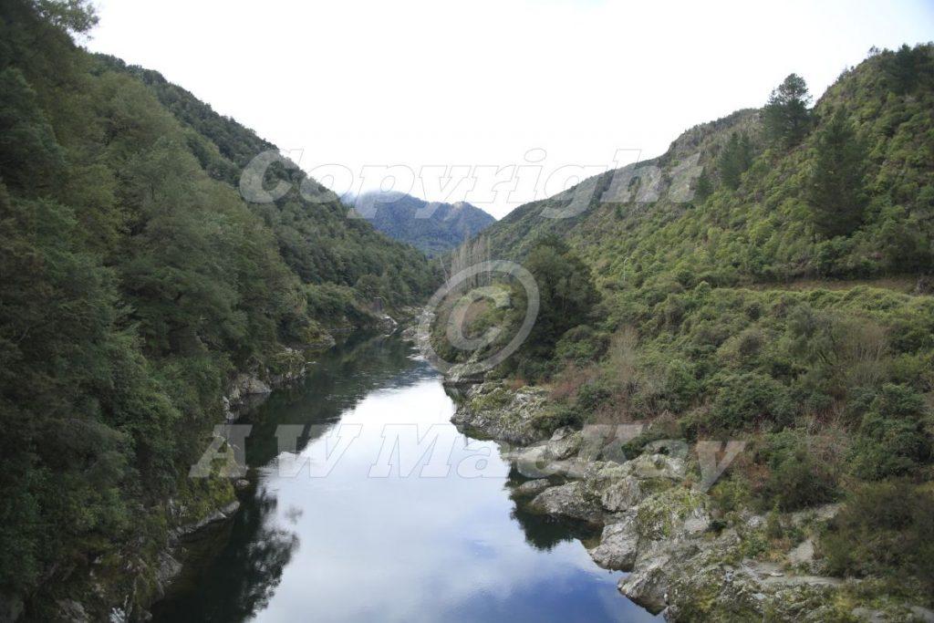 Buller River at O'Sullivans Bridge - SH 6 - West Coast - South Island