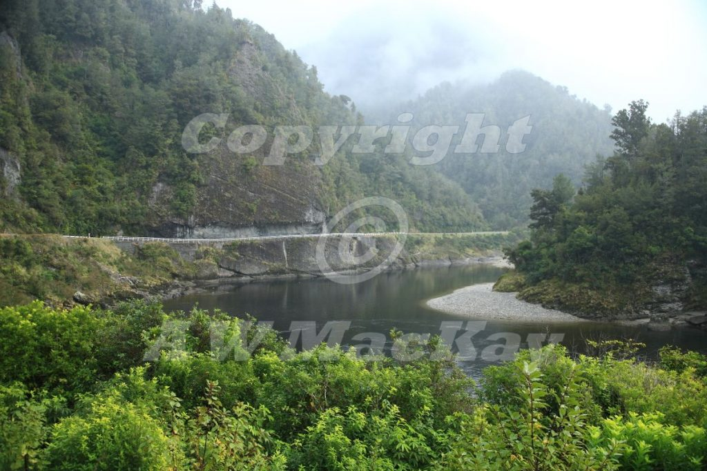Hawks Crag - Buller River - SH 6 - West Coast - South Island