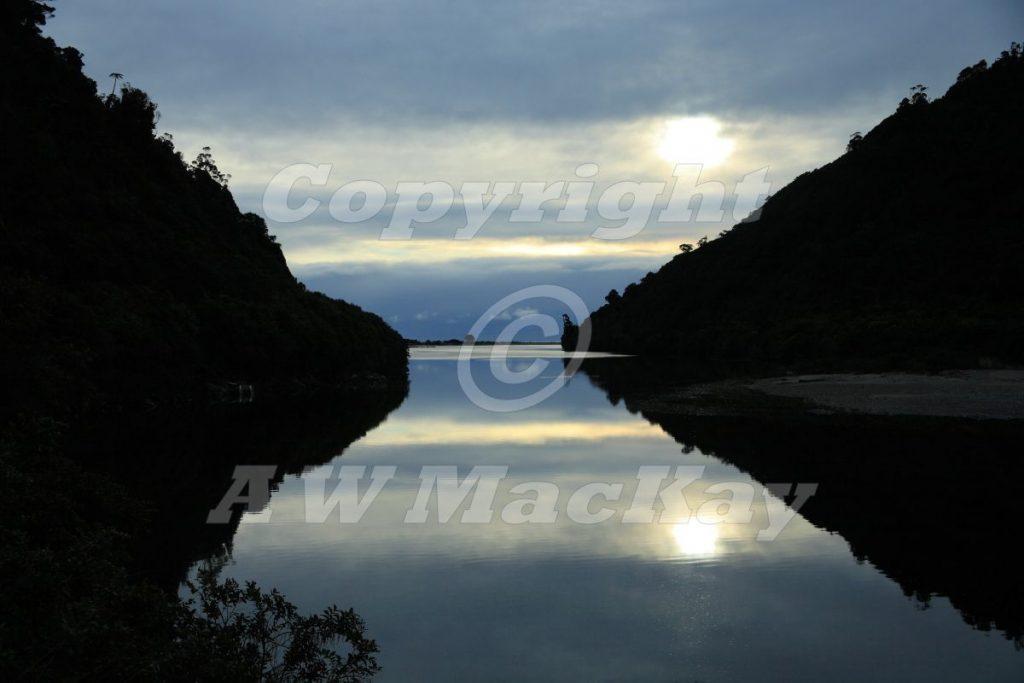 Mokihinui Reflections - SH 67 - North of Westport - West Coast - South Island