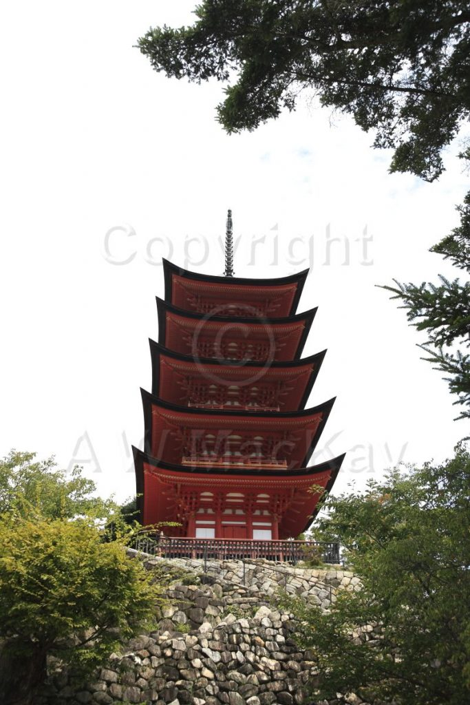 Gojunoto - Five Story Pagoda