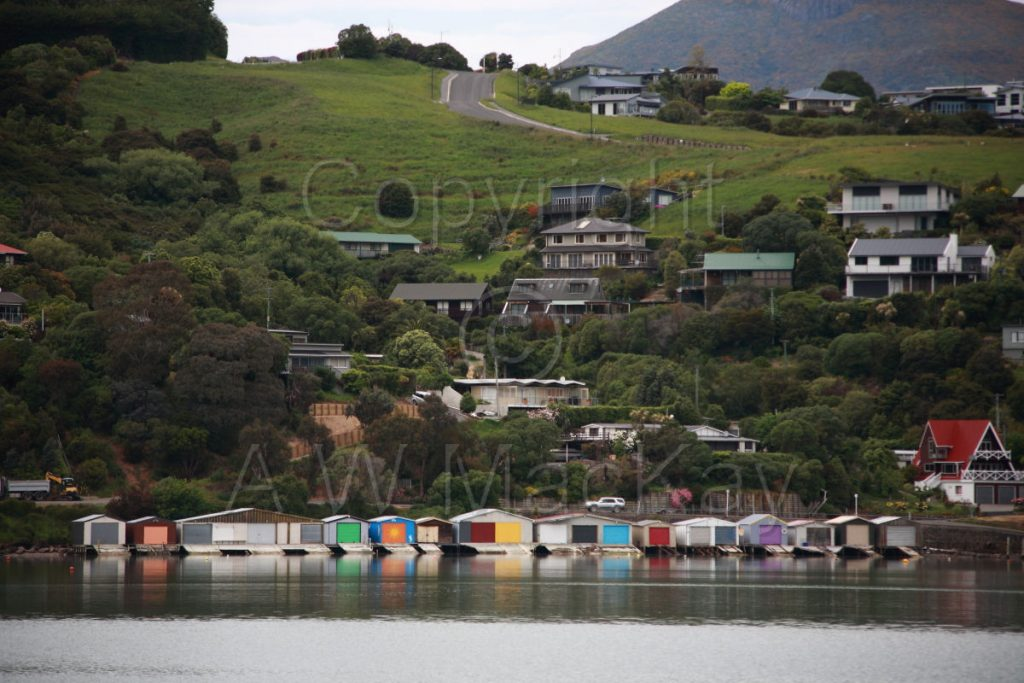 Boatshed Bay - Akaroa Canterbury New Zealand