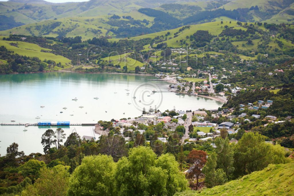 Akaroa Harbour - Akaroa Canterbury New Zealand
