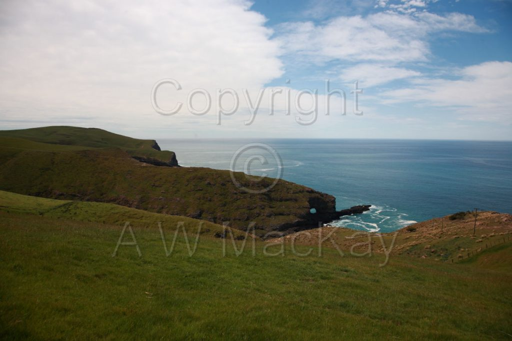 Dyke Head - Banks Peninsula Canterbury New Zealand