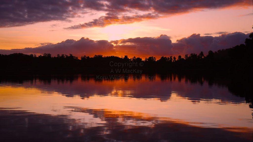 Lake Moeraki Sunset